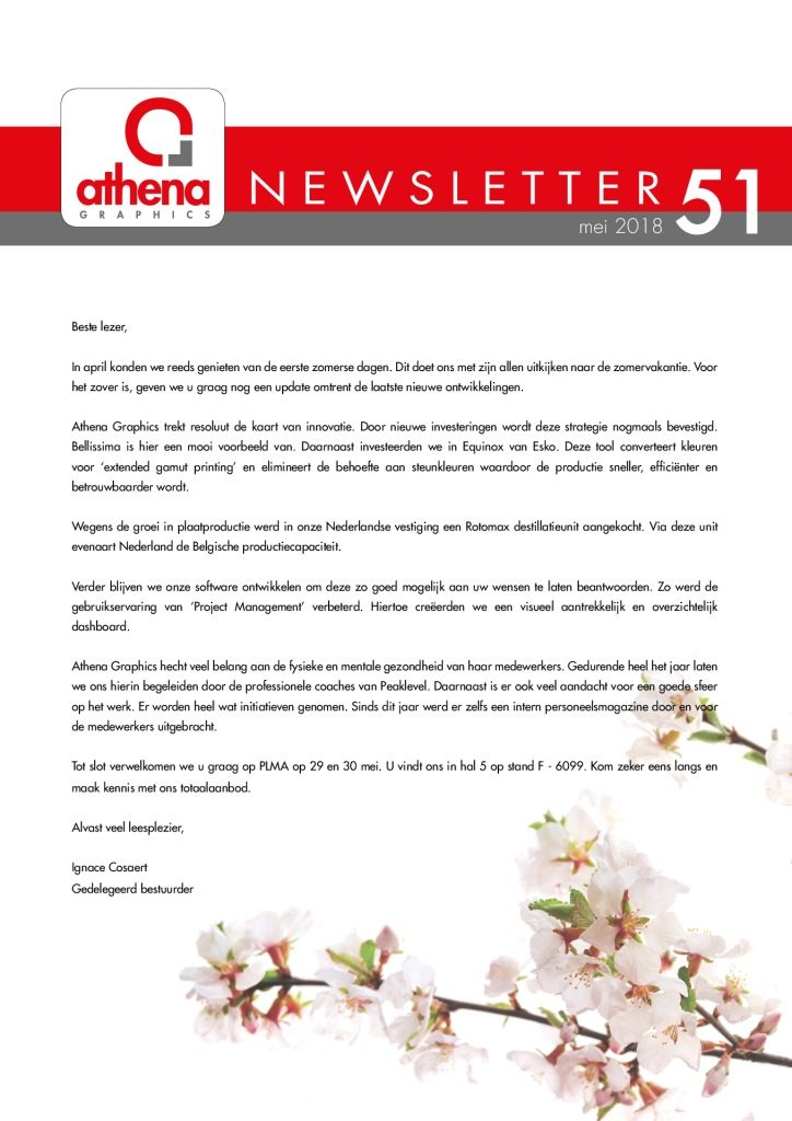 thumbnail of newsletter 51 Nederlands web
